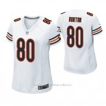 Camiseta NFL Game Mujer Chicago Bears Trey Burton Blanco
