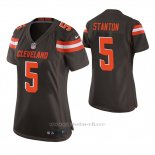 Camiseta NFL Game Mujer Cleveland Browns Drew Stanton Marron