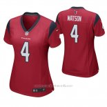 Camiseta NFL Game Mujer Houston Texans Deshaun Watson Rojo