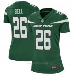 Camiseta NFL Game Mujer New York Jets Le'Veon Bell Verde