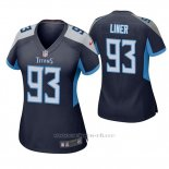 Camiseta NFL Game Mujer Tennessee Titans Dee Liner Azul