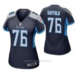 Camiseta NFL Game Mujer Tennessee Titans Rodger Saffold Azul