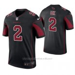 Camiseta NFL Legend Hombre Arizona Cardinals Andy Lee Negro Color Rush