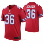 Camiseta NFL Legend Hombre Buffalo Bills Kevin Johnson Color Rush Rojo