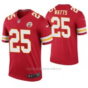 Camiseta NFL Legend Hombre Kansas City Chiefs Armani Watts Rojo Color Rush