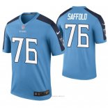 Camiseta NFL Legend Hombre Tennessee Titans Rodger Saffold Color Rush Azul