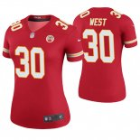 Camiseta NFL Legend Mujer Kansas City Chiefs Charcandrick West Red Color Rush