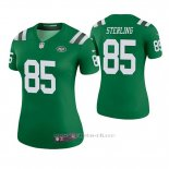 Camiseta NFL Legend Mujer New York Jets Neal Sterling Verde Color Rush