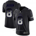 Camiseta NFL Limited Baltimore Ravens Jackson Smoke Fashion Negro