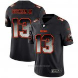 Camiseta NFL Limited Cleveland Browns Beckham Jr Smoke Fashion Negro