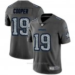 Camiseta NFL Limited Dallas Cowboys Cooper Static Fashion Gris