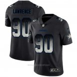 Camiseta NFL Limited Dallas Cowboys Lawrence Smoke Fashion Negro