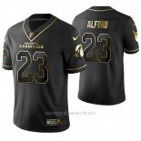 Camiseta NFL Limited Hombre Arizona Cardinals Robert Alford Golden Edition Negro