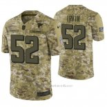 Camiseta NFL Limited Hombre Atlanta Falcons Bruce Irvin Camuflaje 2018 Salute To Service