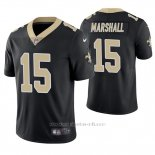Camiseta NFL Limited Hombre New Orleans Saints Brandon Marshall Negro Vapor Untouchable