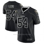 Camiseta NFL Limited Hombre Oakland Raiders Emmanuel Lamur Negro Color Rush 2018 Lights Out