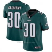 Camiseta NFL Limited Hombre Philadelphia Eagles 30 Clement Verde