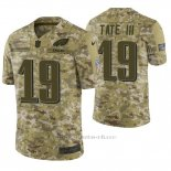 Camiseta NFL Limited Hombre Philadelphia Eagles Golden Tate Camuflaje 2018 Salute To Service