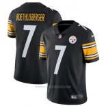 Camiseta NFL Limited Hombre Pittsburgh Steelers 7 Roethlisberger Negro