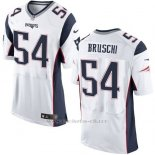 Camiseta New England Patriots Bruschi Blanco Nike Elite NFL Hombre