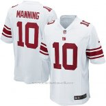 Camiseta New York Giants Manning Blanco Nike Game NFL Nino