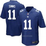 Camiseta New York Giants Simms Azul Nike Game NFL Nino