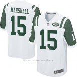 Camiseta New York Jets Marshall Blanco Nike Game NFL Nino