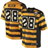 Camiseta Pittsburgh Steelers Allen Amarillo Nike Game NFL Nino