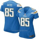 Camiseta San Diego Chargers Gates Azul Nike Game NFL Mujer