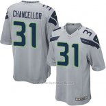 Camiseta Seattle Seahawks Chancellor Gris Nike Game NFL Nino