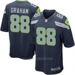 Camiseta Seattle Seahawks Graham Azul Oscuro Nike Game NFL Nino