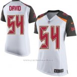 Camiseta Tampa Bay Buccaneers David Blanco Nike Game NFL Mujer