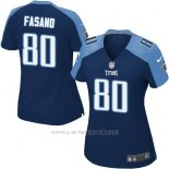 Camiseta Tennessee Titans Fasano Azul Oscuro Nike Game NFL Mujer