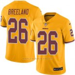 Camiseta Washington Redskins Breeland Amarillo Nike Legend NFL Hombre