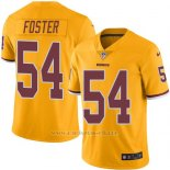 Camiseta Washington Redskins Foster Amarillo Nike Legend NFL Hombre
