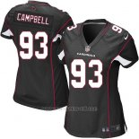 Camiseta Arizona Cardinals Campbell Negro Nike Game NFL Mujer