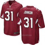 Camiseta Arizona Cardinals Johnson Rojo Nike Game NFL Nino