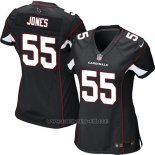 Camiseta Arizona Cardinals Jones Negro Nike Game NFL Mujer