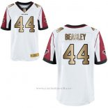 Camiseta Atlanta Falcons Beasley Blanco Nike Gold Elite NFL Hombre