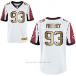Camiseta Atlanta Falcons Freeney Blanco Nike Gold Elite NFL Hombre
