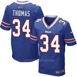 Camiseta Buffalo Bills Thomas Azul Nike Elite NFL Hombre
