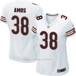 Camiseta Chicago Bears Amos Blanco Nike Game NFL Mujer