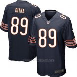 Camiseta Chicago Bears Ditka Blanco Negro Nike Game NFL Hombre
