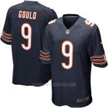 Camiseta Chicago Bears Gould Blanco Negro Nike Game NFL Hombre