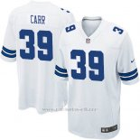 Camiseta Dallas Cowboys Carr Blanco Nike Game NFL Nino