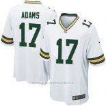 Camiseta Green Bay Packers Adams Blanco Nike Game NFL Nino