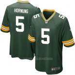 Camiseta Green Bay Packers Hornung Verde Militar Nike Game NFL Nino