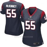 Camiseta Houston Texans McKinney Negro Nike Game NFL Mujer