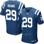 Camiseta Indianapolis Colts Adams Azul Nike Elite NFL Hombre