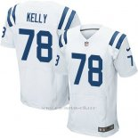 Camiseta Indianapolis Colts Kelly Blanco Nike Elite NFL Hombre